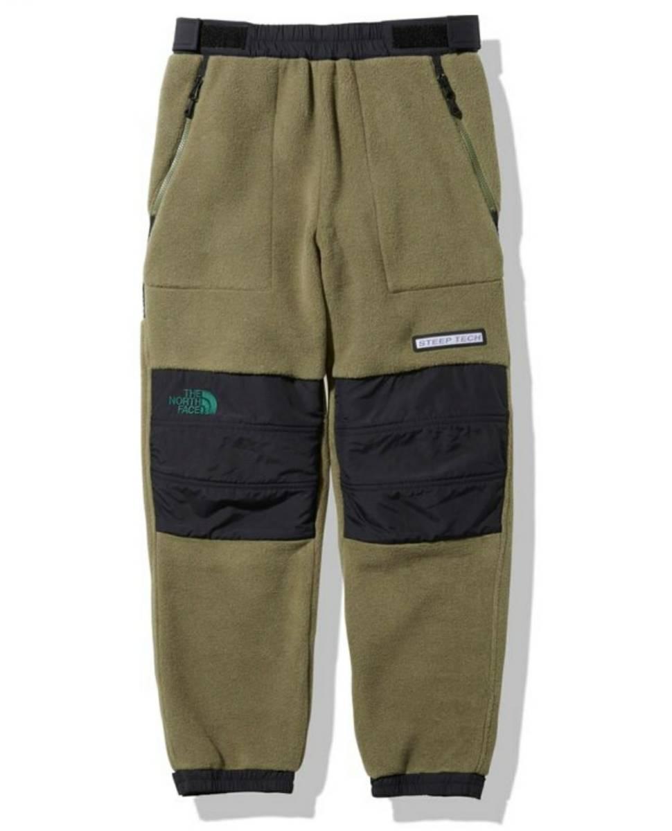 新品★M★THE NORTH FACE スティープテック フリースパンツ ノースフェイス STEEP TECH Fleece Pants BE NA62002 バーントオリーブグリーン