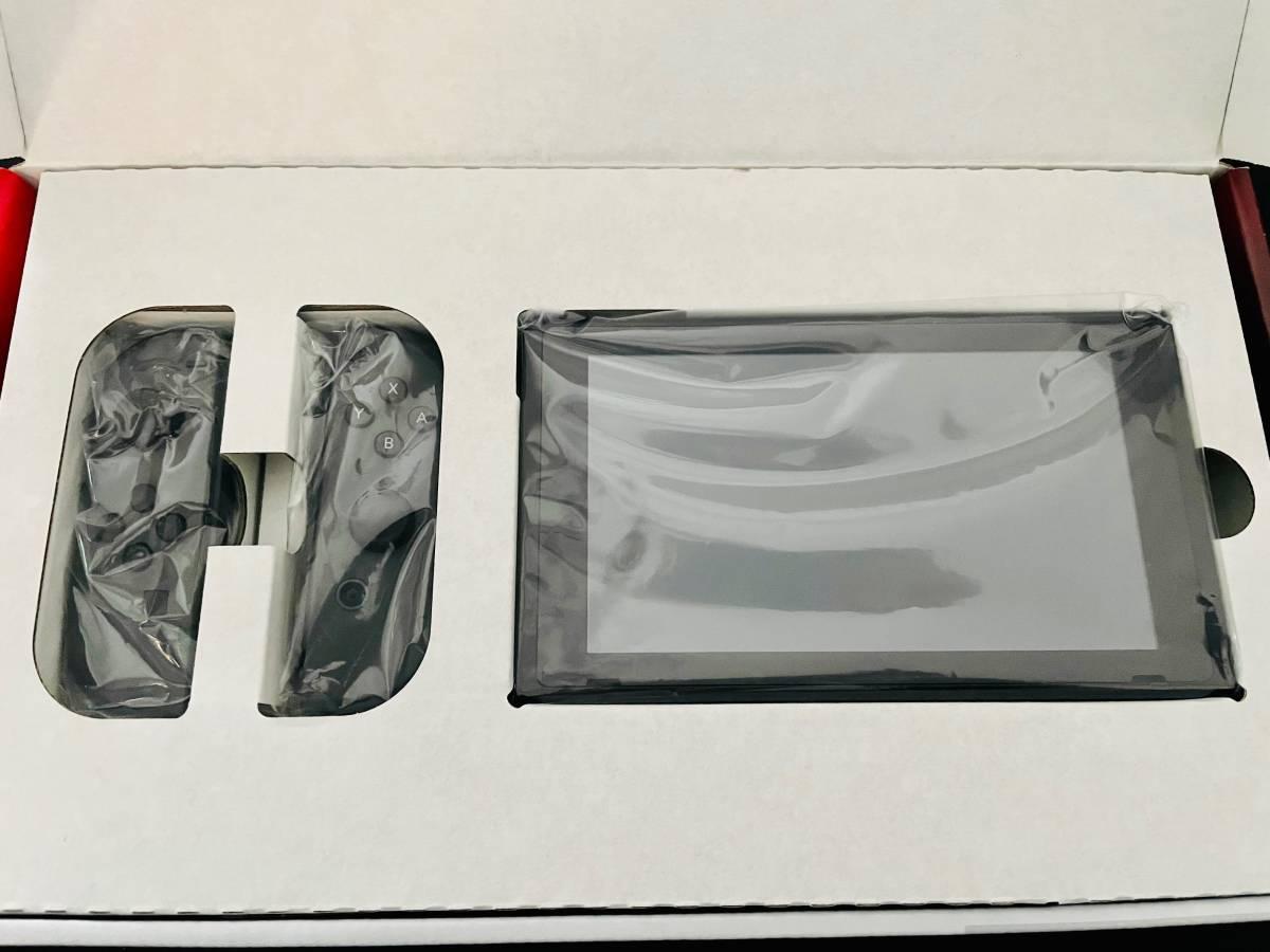 Nintendo Switch 本体 (ニンテンドースイッチ) Joy-Con(L)/(R) グレー 美品 おまけ付き_画像2