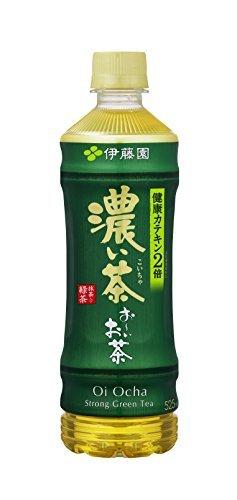 1) 525ml×24本 [機能性表示食品] 伊藤園 おーいお茶 濃い茶 525ml&24本_画像1