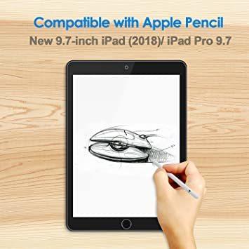 透明 9.7インチ JEDirect iPad (9.7インチ、2018/2017モデル、第6/5世代) iPad Air/iP_画像3