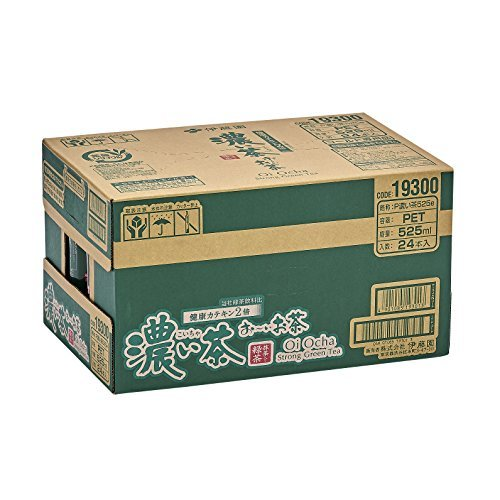 1) 525ml×24本 [機能性表示食品] 伊藤園 おーいお茶 濃い茶 525ml&24本_画像3