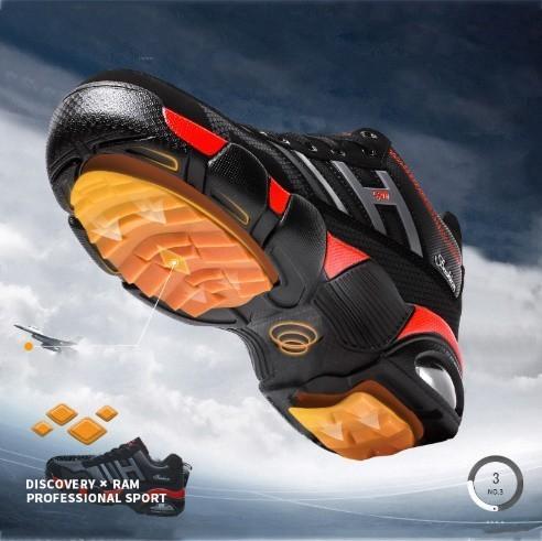 男性 トレーナー 通気性 スニーカー 男性 靴 成人 ファッション カジュアル シューズ エアクッション 黒 赤 青 メンズ_画像6