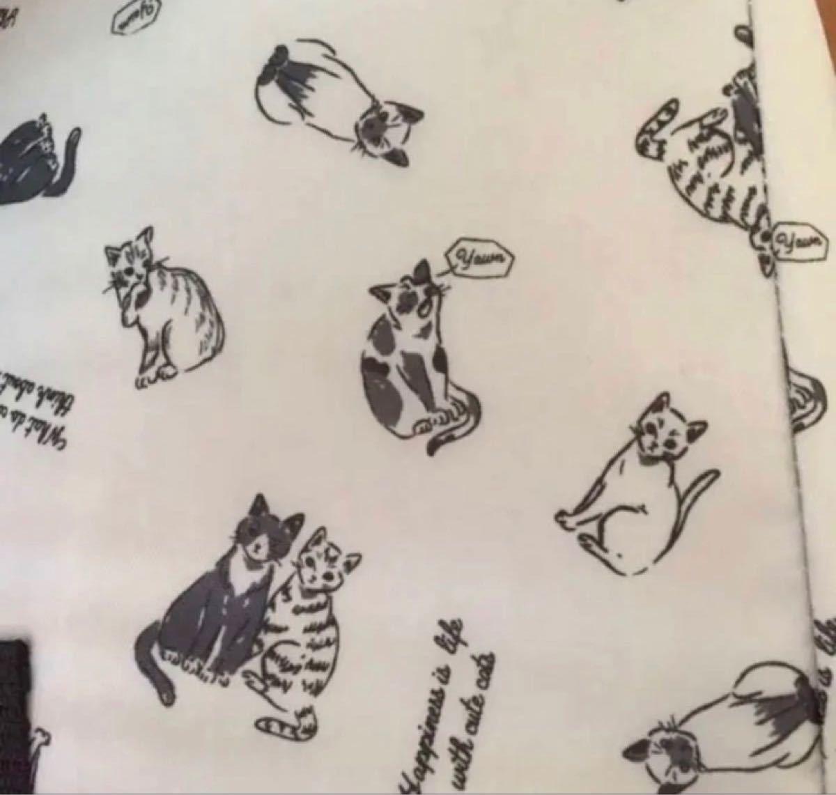 保冷 レジカゴバッグ  ネコちゃん  厚手素材 大容量 ネコ 猫 い