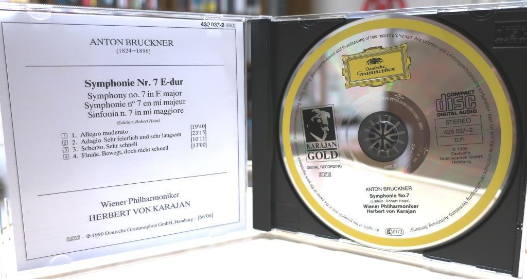 ブルックナー交響曲第7番 / カラヤン & ウィーン・フィル / 1989_画像3