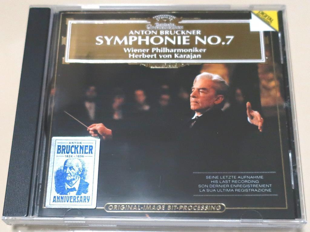 ブルックナー交響曲第7番 / カラヤン & ウィーン・フィル / 1989_画像1