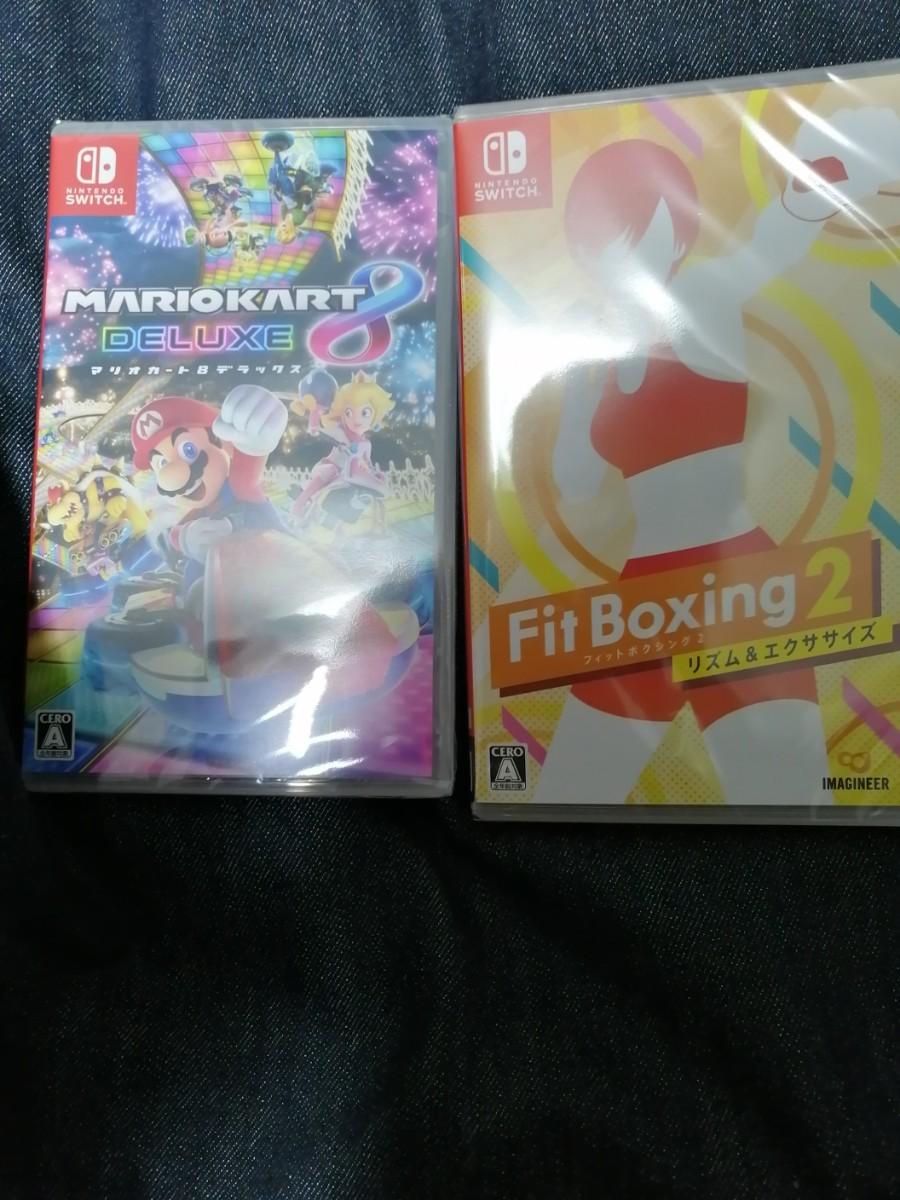 マリオカート フィットボクシング2 スイッチソフト Nintendo Switch ニンテンドースイッチ