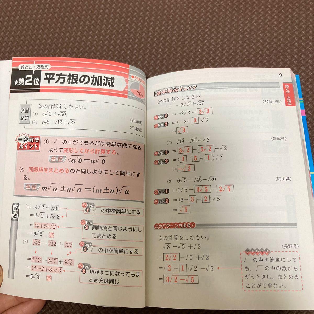 中学数学  問題集 高校入試