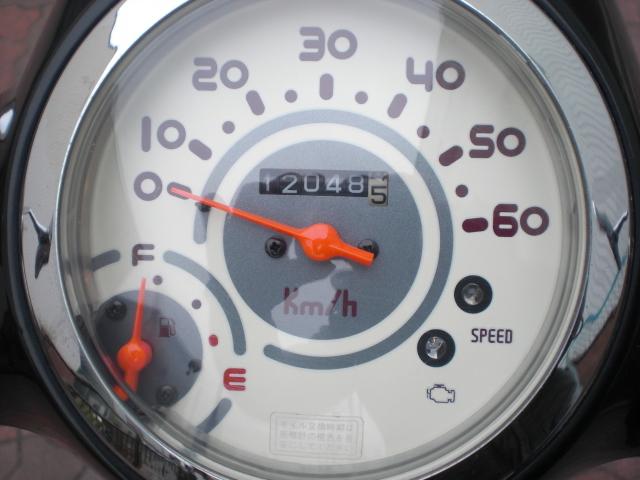 大阪府 AF70 ジョルノ Fi ブラック バッテリー/ベルトなど新品交換済み_画像8