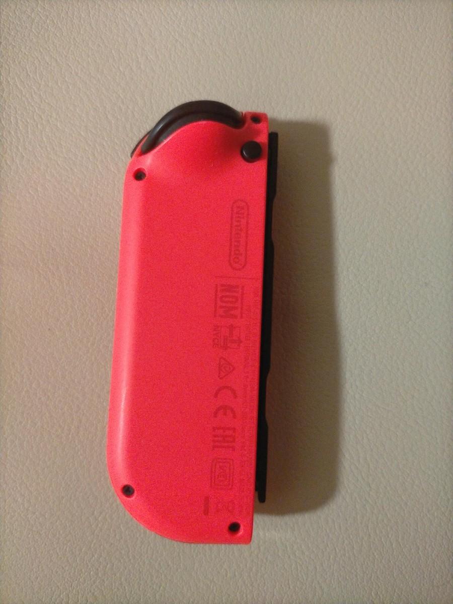 Nintendo Switch  ジョイコン  ネオンレッド