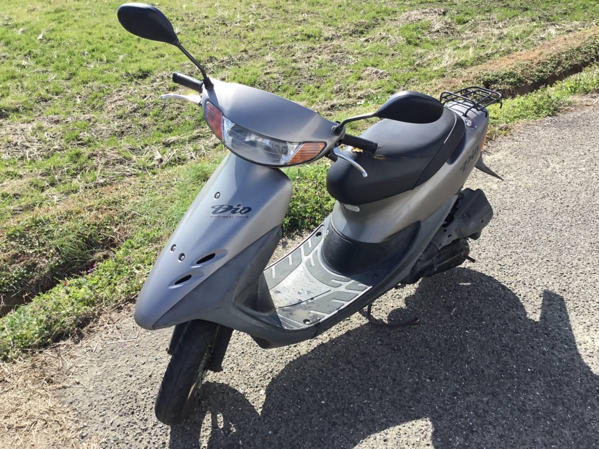 「DIO-3 福岡 リアパンク ホンダ 50cc スクーター 原付」の画像1