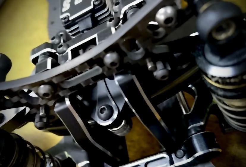 ヨコモ YD-2用 カーボン製 軽量フロントダンパーステー 新品 日本製 蕨山Carbon