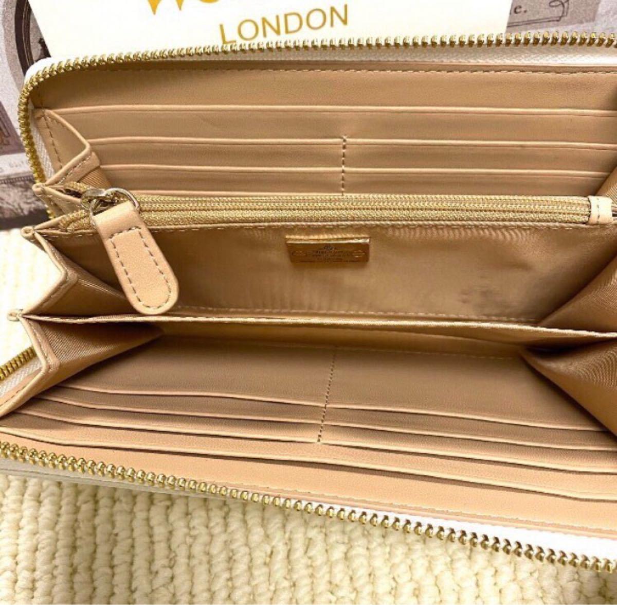 Vivienne Westwood 長財布【ホワイト】 ヴィヴィアンウエストウッド 長財布レディース