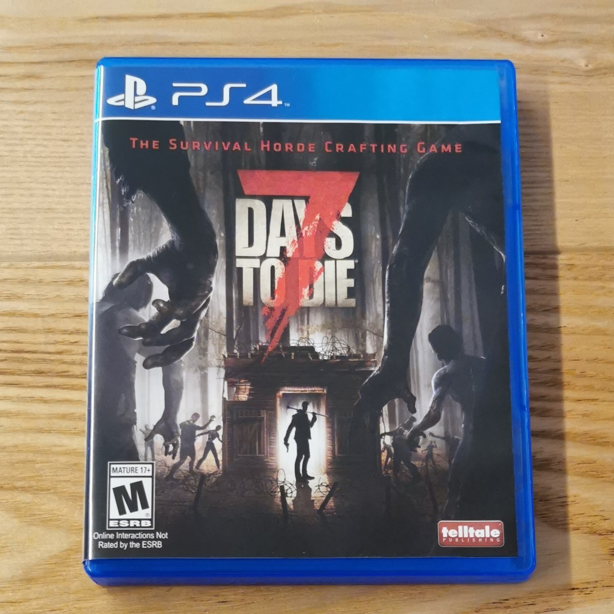 北米版 海外版 PS4 7days to die
