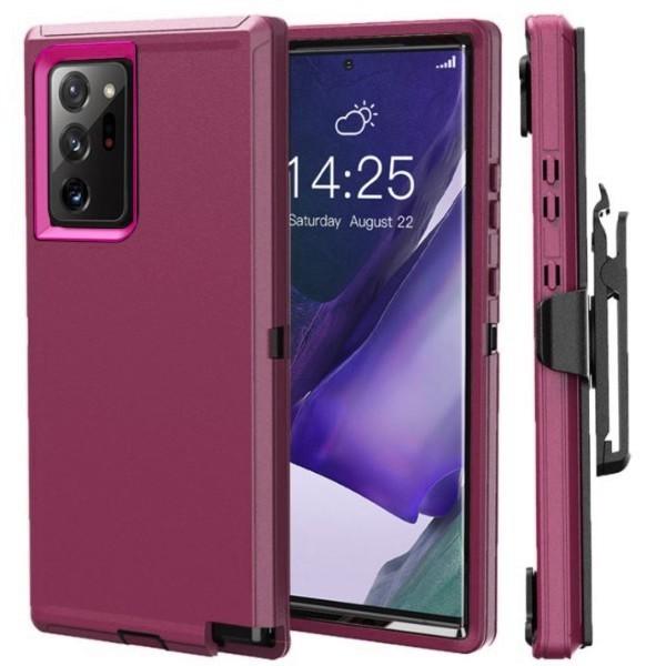 Galaxy Note20 Ultra 5G docomo SC-53A au SCG06 ハードケース 腰掛け ギャラクシー ノート20 ウルトラ カバー パープル