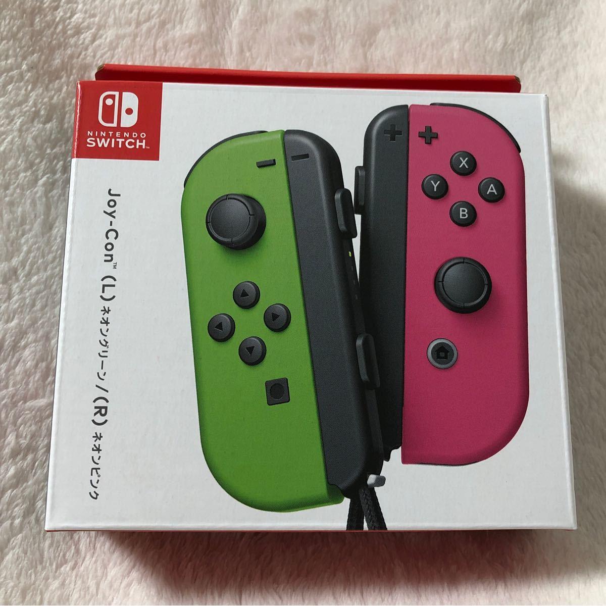 ネオンピンク ネオングリーン ジョイコン Joy-Con (L) Nintendo Switch Joy-Con