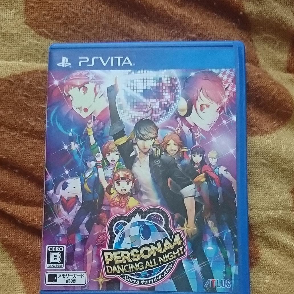 PS Vita ペルソナ4ダンシング・オールナイト VITA ソフト