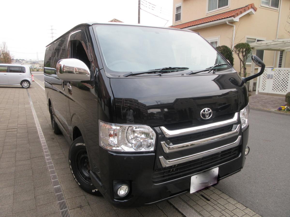 「☆☆美車 26年式 4型 スーパーGL ブラック 81000キロ ガソリン 予備車検付き☆☆」の画像1