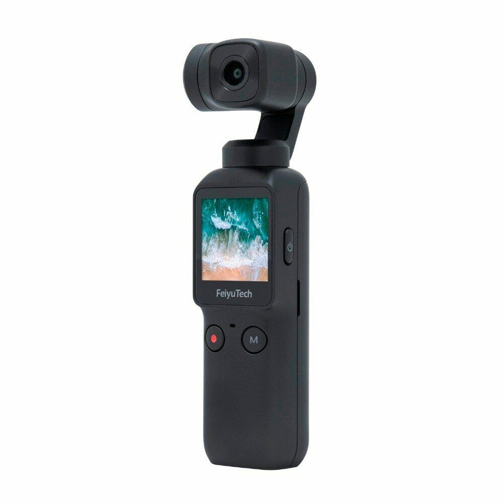 ★新品★1円スタート★残り1点!専用ロッド付 Feiyu Tech Pocket Gimbal Stabilizer 4K Camera フェイユーテック ポケット ジンバル カメラ