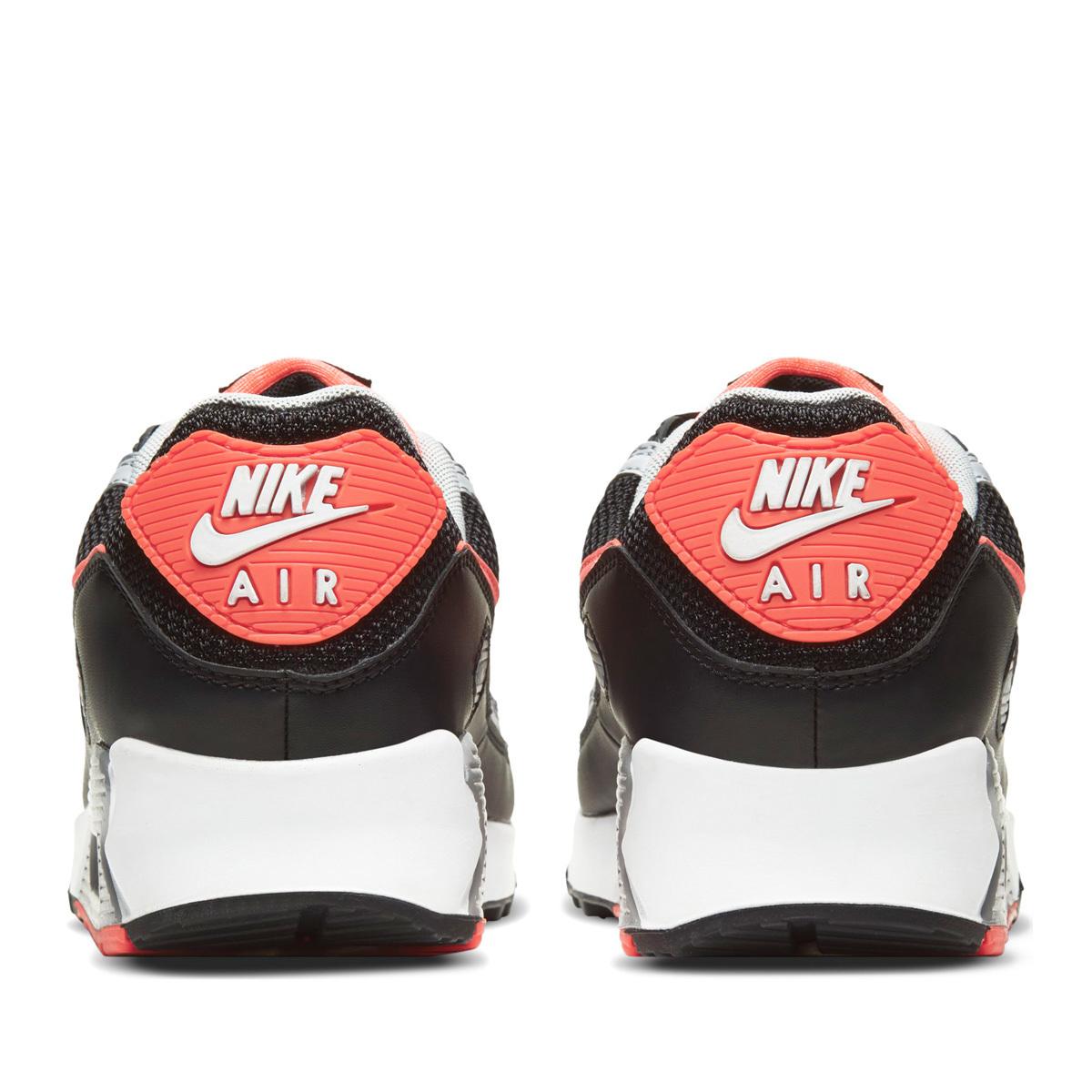 送料無料 28cm●NIKE AIR MAX 90 ナイキ エア マックス 90 CZ4222-001 黒 赤 オレンジ グレー メンズ スニーカー 90年代 定番 人気_画像5