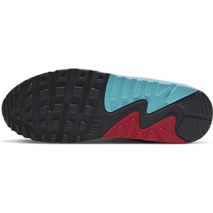 送料無料 28cm●ナイキ エア マックス 90 CV8839-100 白 青 赤 水色 ピンク NIKE AIR MAX 90 スニーカー 非対称 カラフル 1 95 _画像6