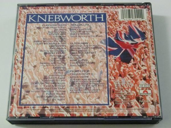 KNEBWORTH THE ALBUM MADE IN U.S.A. 847 042-2 2CD ネブワース・ライブ ERIC CLAPTON ELTON JOHN PAUL MCCARTNEY PINK FLOYD 他_画像2