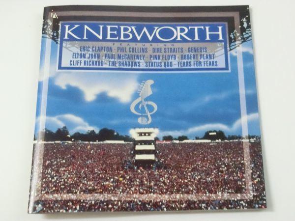 KNEBWORTH THE ALBUM MADE IN U.S.A. 847 042-2 2CD ネブワース・ライブ ERIC CLAPTON ELTON JOHN PAUL MCCARTNEY PINK FLOYD 他_画像3
