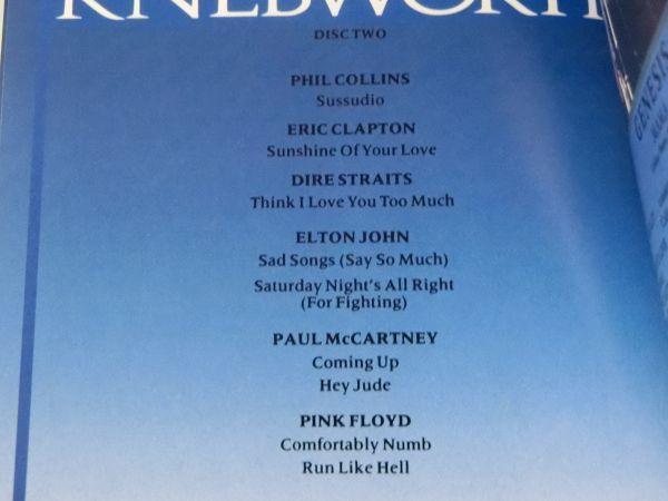 KNEBWORTH THE ALBUM MADE IN U.S.A. 847 042-2 2CD ネブワース・ライブ ERIC CLAPTON ELTON JOHN PAUL MCCARTNEY PINK FLOYD 他_画像7