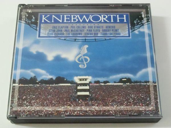 KNEBWORTH THE ALBUM MADE IN U.S.A. 847 042-2 2CD ネブワース・ライブ ERIC CLAPTON ELTON JOHN PAUL MCCARTNEY PINK FLOYD 他_画像1