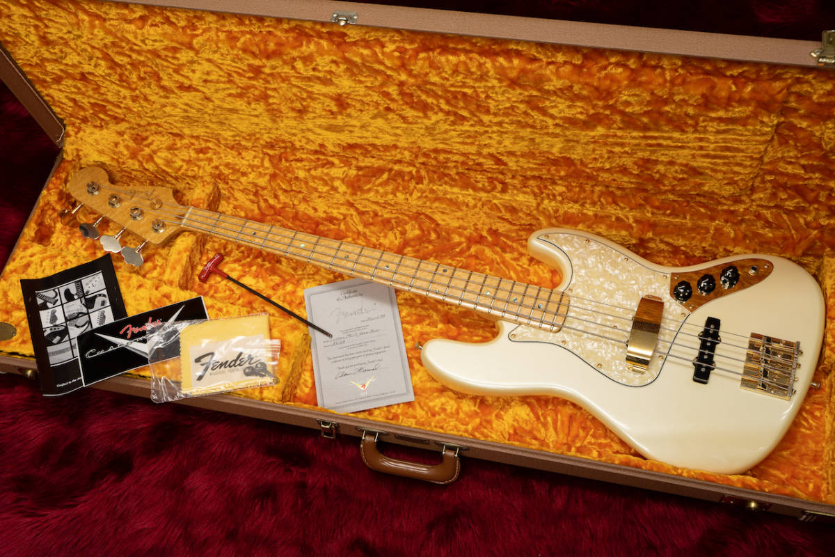 Fender MBS 1960s Jazz Bass #AH168 4.45kg 1999 ALAN HAMEL - Geek IN Box -_画像9