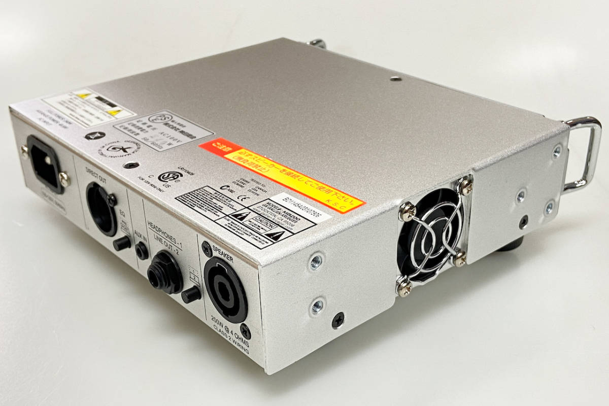 GALLIEN-KRUEGER MB-200 - Geek IN Box -_画像4