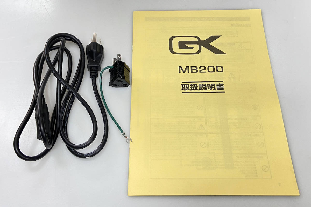 GALLIEN-KRUEGER MB-200 - Geek IN Box -_画像9