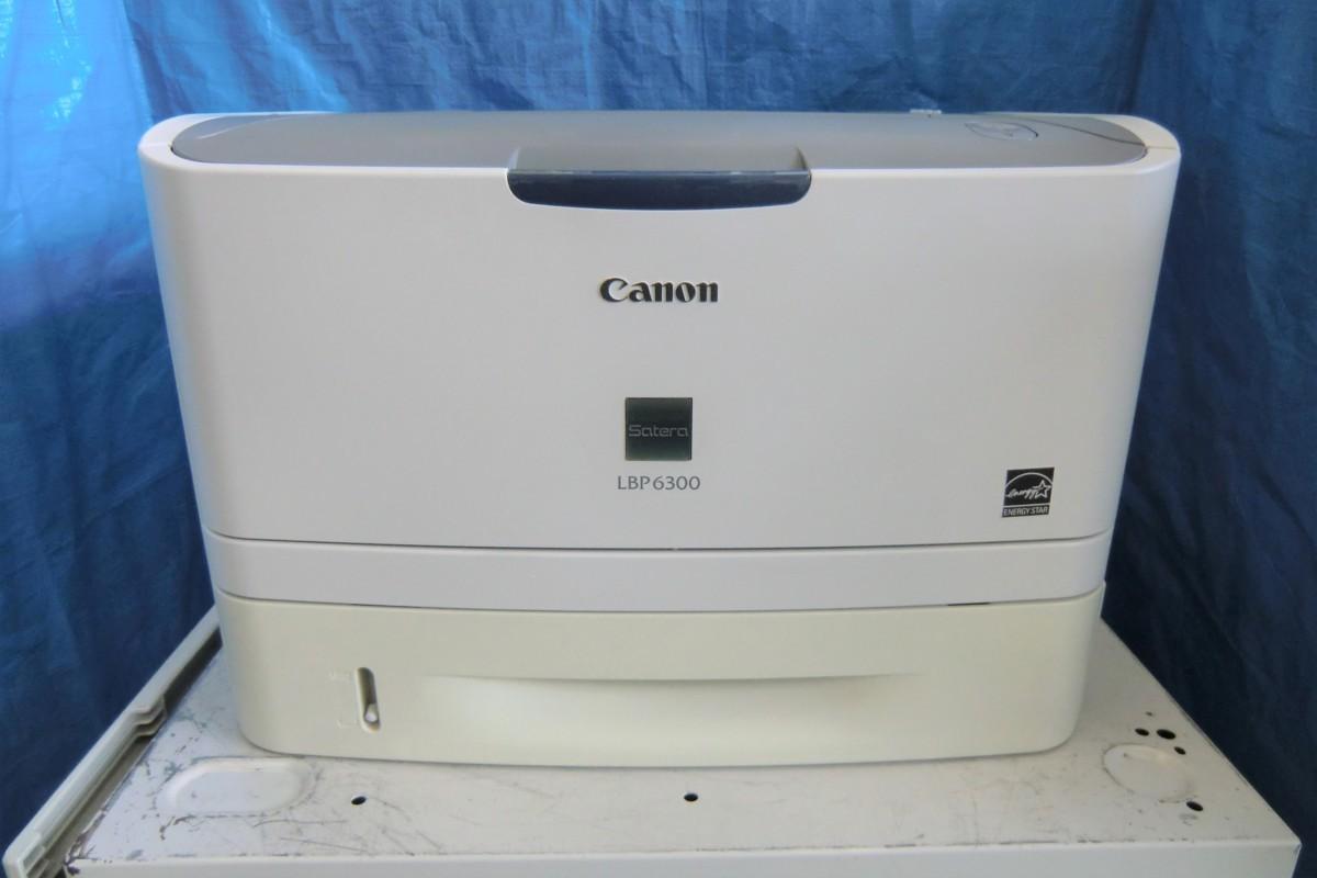 ◆中古レーザープリンタ《Canon LBP6300》トナーなし(ジャンク)◆_画像1