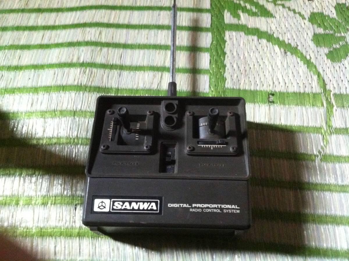 SANWA サンワ Digital Proportional Radio Control System ラジコン用 プロポ ジャンク品_画像1