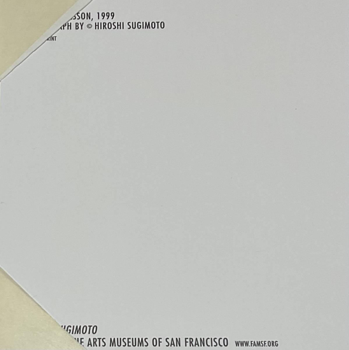 杉本博司 THE MUSIC LESSON 1999 杉本博司 Hiroshi Sugimoto 日本製新品額装 _画像8