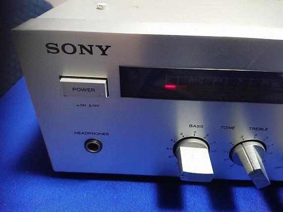SONY ソニー アンプ  TA-150_画像2