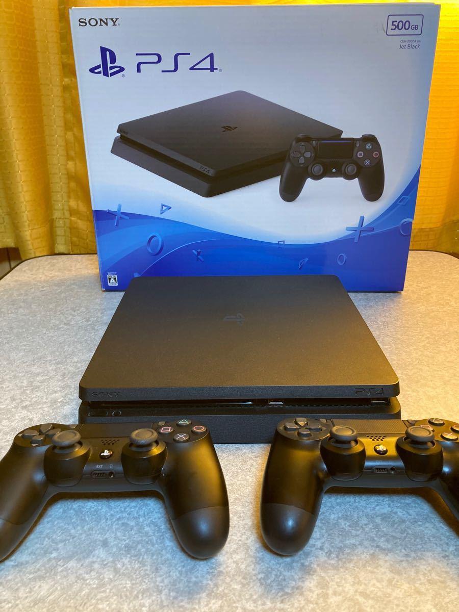 PlayStation4 本体 コントローラー2個付き  PS4  プレステ4  プレイステーション4