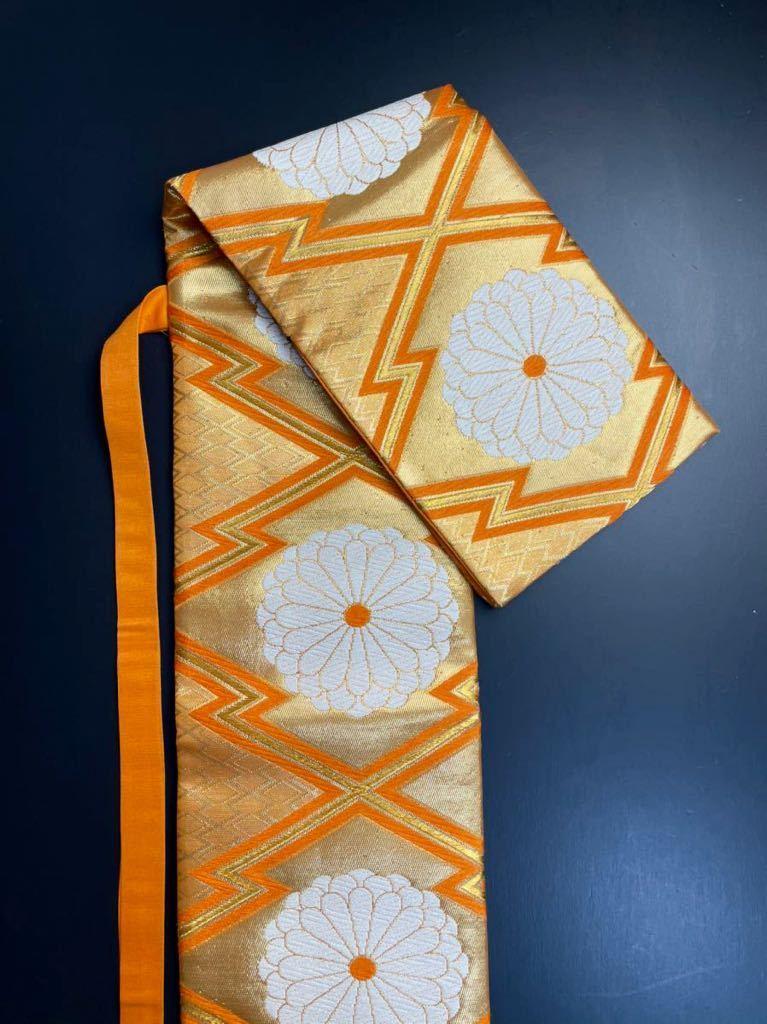 限定2本 日本刀 太刀 刀 刀袋 豪華 花紋 職人ハンドメイド 100% 正絹使用 一点物 8-1_画像6