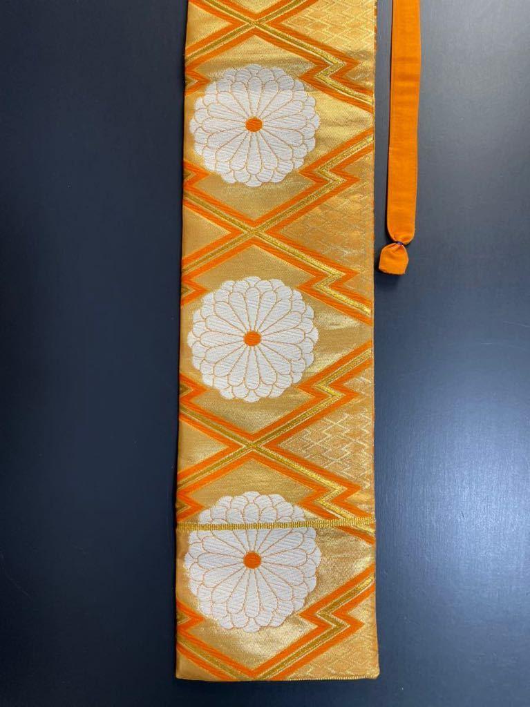 限定2本 日本刀 太刀 刀 刀袋 豪華 花紋 職人ハンドメイド 100% 正絹使用 一点物 8-1_画像4