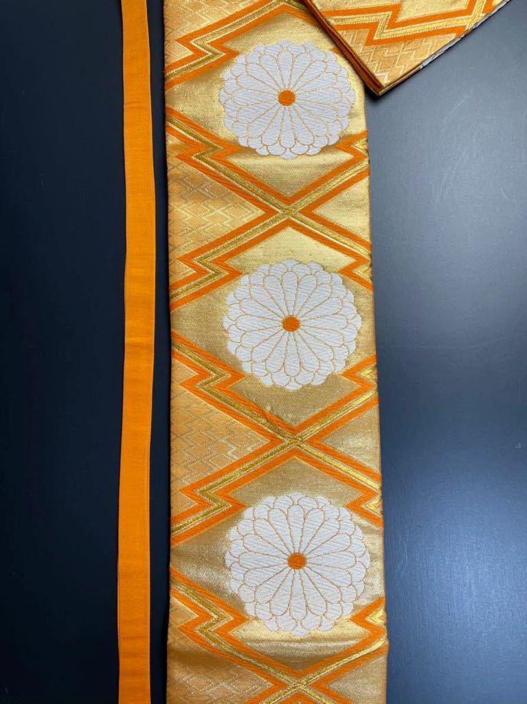 限定2本 日本刀 太刀 刀 刀袋 豪華 花紋 職人ハンドメイド 100% 正絹使用 一点物 8-1_画像7