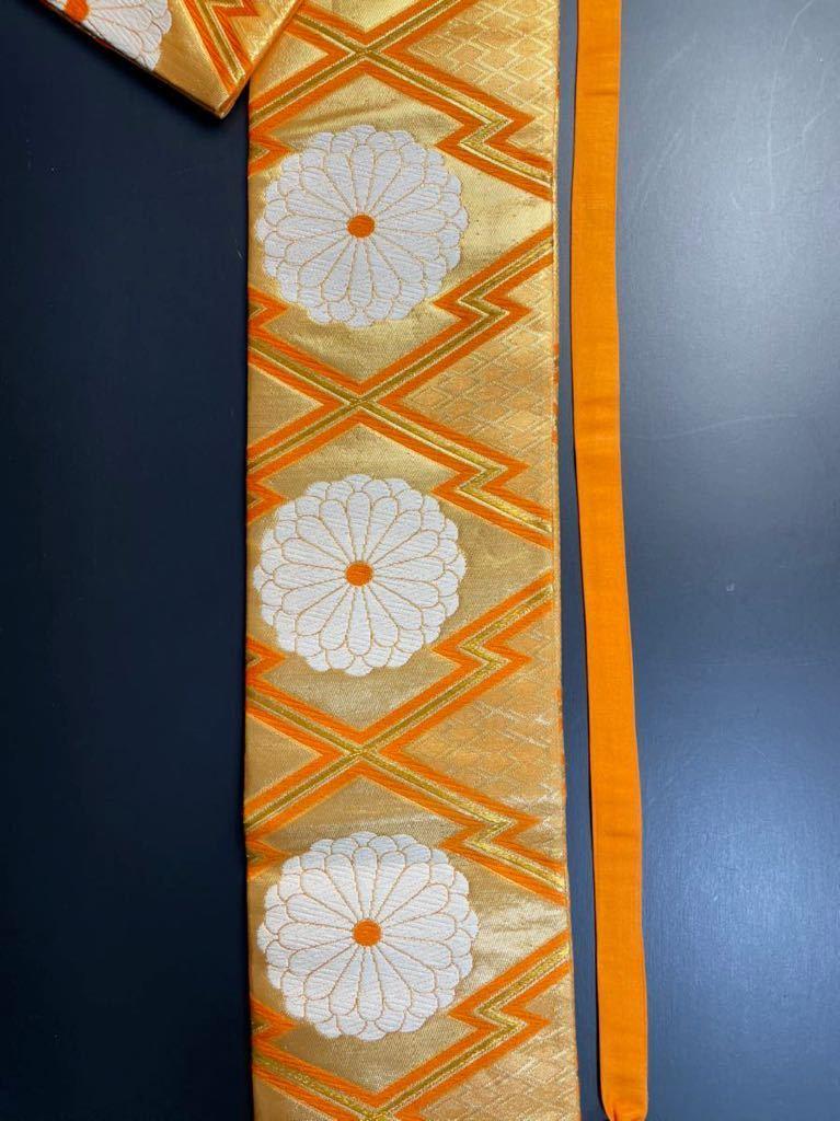 限定2本 日本刀 太刀 刀 刀袋 豪華 花紋 職人ハンドメイド 100% 正絹使用 一点物 8-1_画像3