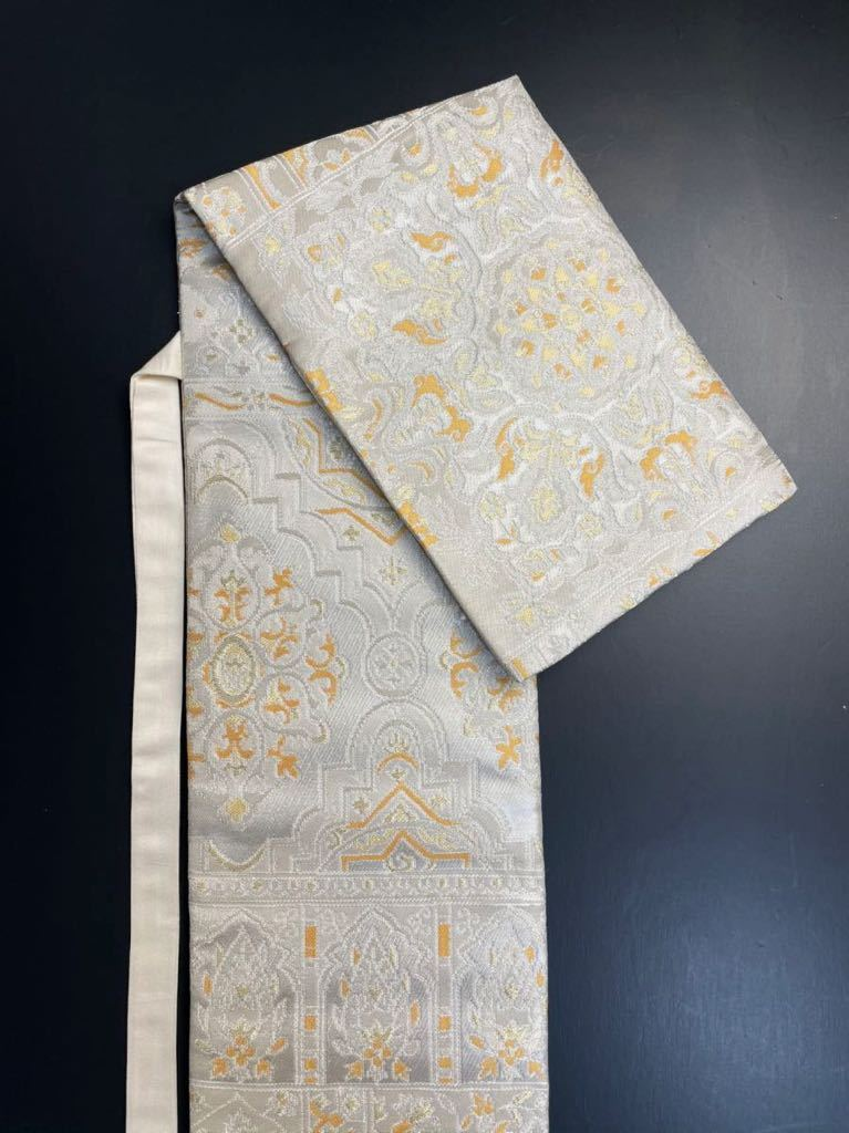 限定1本 日本刀 太刀 刀 刀袋 豪華 花紋 職人ハンドメイド 100% 正絹使用 一点物 8-5_画像7