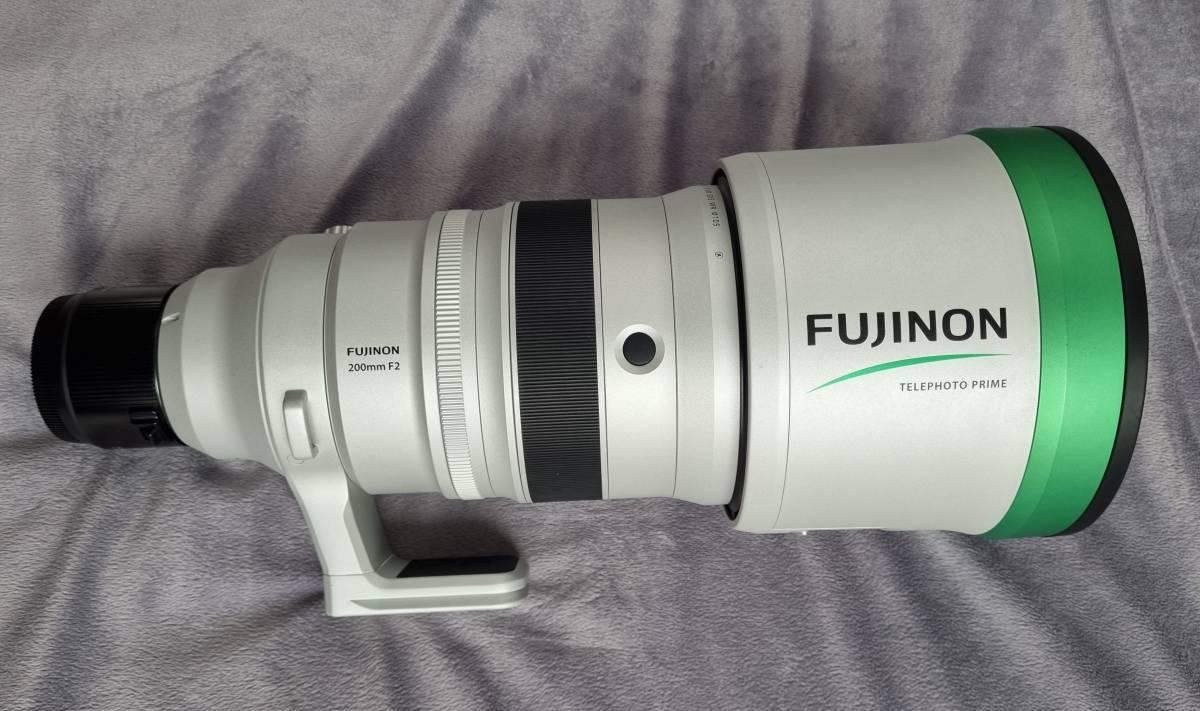 富士フイルム フジノン FUJIFILM FUJINON XF 200mm F2 R LM OIS WR