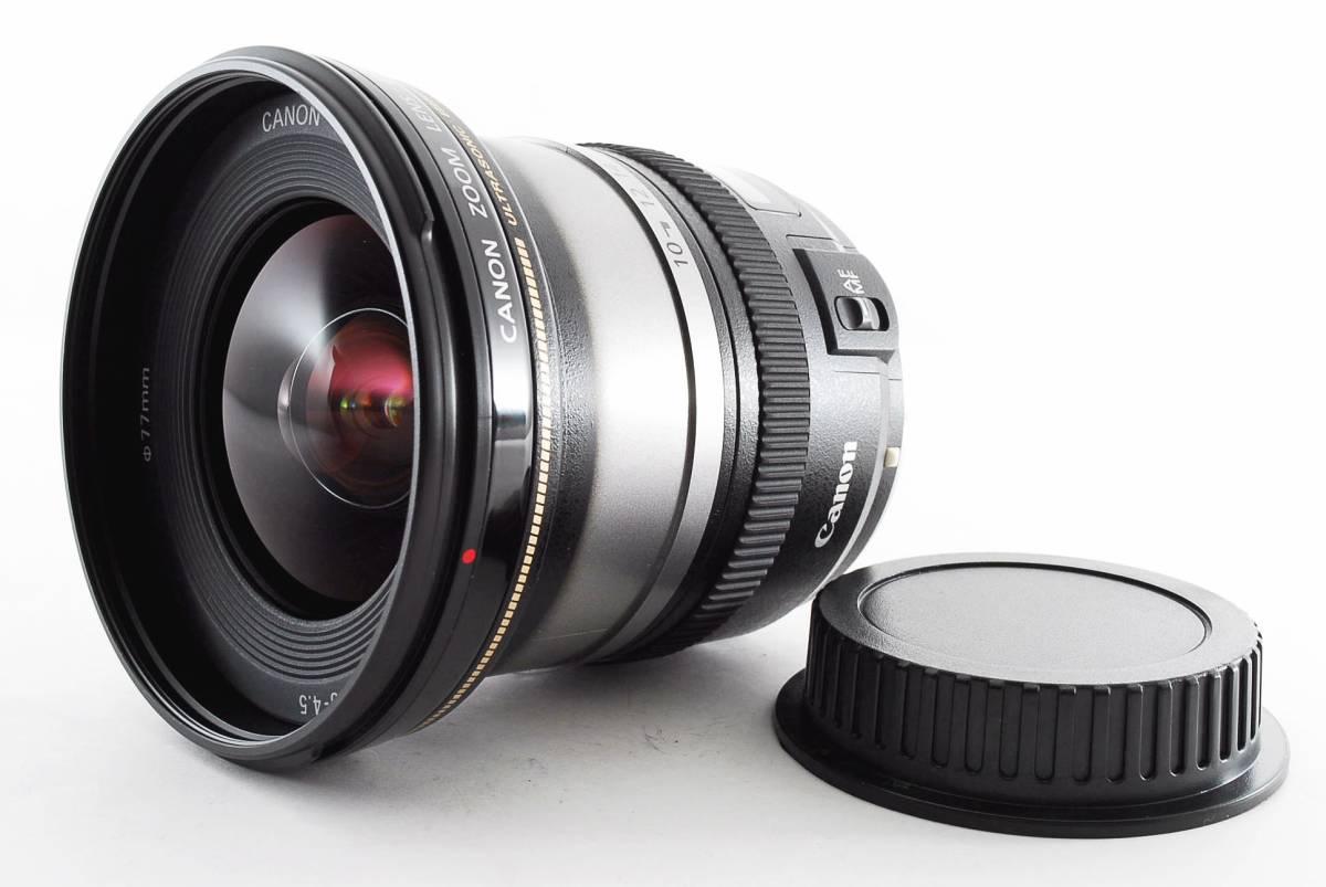 ★【美品 超広角ズームレンズ】 Canon EF-S10-22mm F3.5-4.5 USM ★ウルトラソニック搭載でスムーズ&静粛で高速なAFを実現 758944