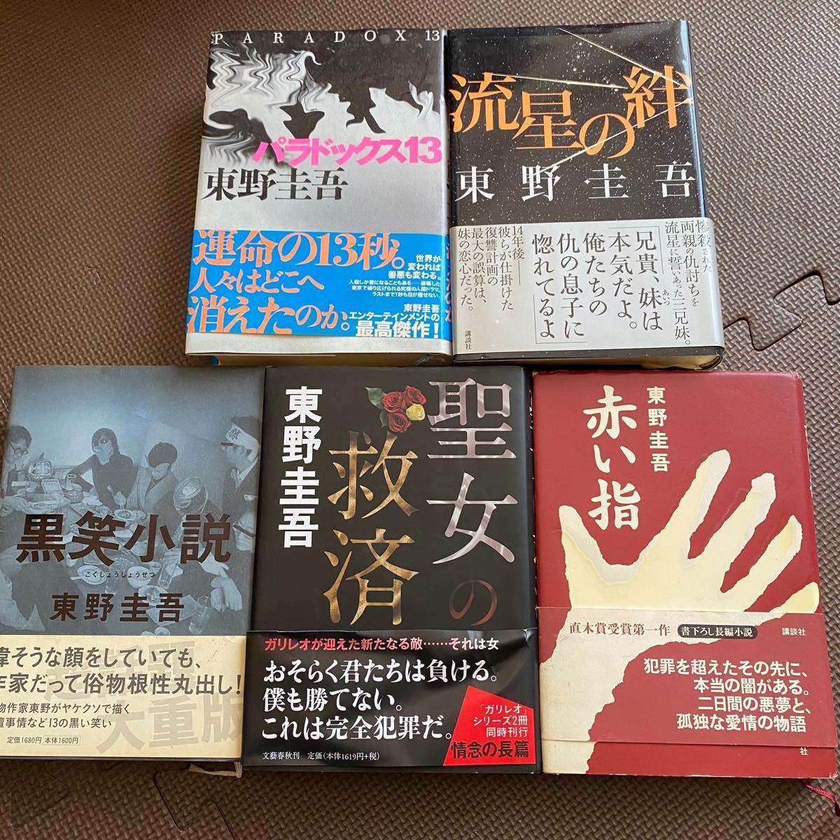 東野圭吾 まとめ売り 流星の絆 赤い指 パラドックス13 聖女の救済 黒笑小説