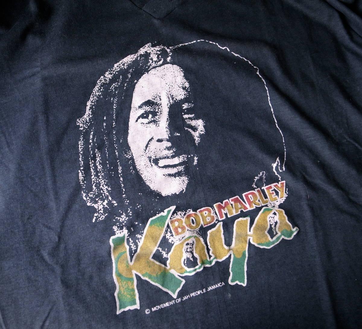 デッドストック 80s 90s ボブ・マーリー Bob Marley レゲエ Reggae ビンテージ Tシャツ JAMAICA製 ジャマイカ ロックT RAP TEE _画像1
