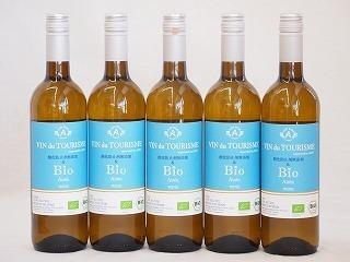 5本セット(スペインオーガニック白ワイン アイレン種ヴァンドゥツーリズムalc.13%辛口) 750ml×5本_画像1