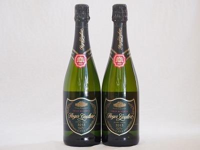 ロジャーグラート2本セット カヴァ グラン キュヴェ ジョセップ ヴァイス スパークリングワイン(スペイン)750ml×2_画像1