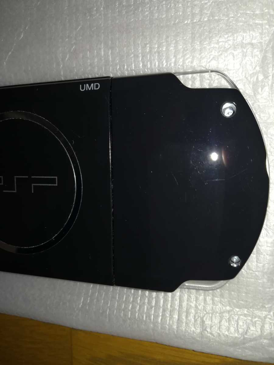 PSP-3000 本体 「プレイステーション・ポータブル」 ピアノ・ブラック 中古品