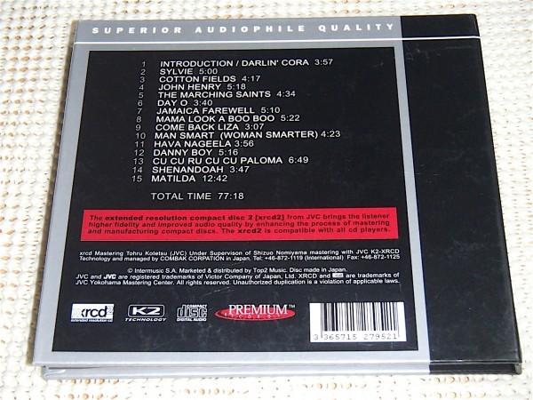 廃盤高音質 XRCD2 Harry Belafonte ハリー ベラフォンテ At Carnegie Hall/小鉄徹 マスタリング 傑作 ライヴ 優秀録音盤 Danny Boy Matilda