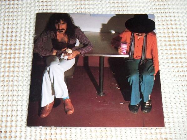 US初出 廃盤 Frank Zappa + Captain Beefheart + Mothers フランク ザッパ キャプテン ビーフハート Bongo Fury /鬼才と奇才 強烈タッグ